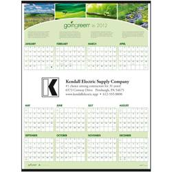 "6213 - ""Going Green"" Span-A-Year Calendar"